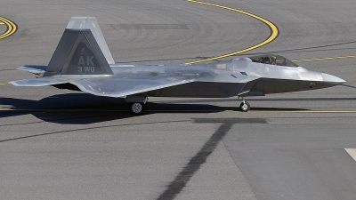 Photo ID 214764 by Alex Jossi. USA Air Force Lockheed Martin F 22A Raptor, 10 4193