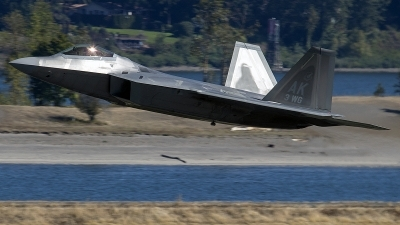 Photo ID 214765 by Alex Jossi. USA Air Force Lockheed Martin F 22A Raptor, 10 4193