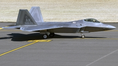 Photo ID 214766 by Alex Jossi. USA Air Force Lockheed Martin F 22A Raptor, 10 4195