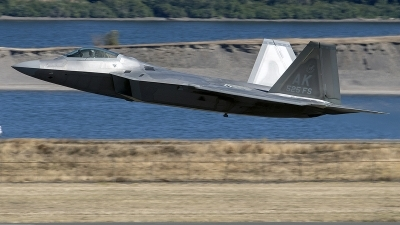 Photo ID 214767 by Alex Jossi. USA Air Force Lockheed Martin F 22A Raptor, 10 4195