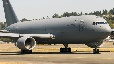 Photo ID 214620 by Aaron C. Rhodes. USA Air Force Boeing KC 46A Pegasus 767 200LRF, N464KC
