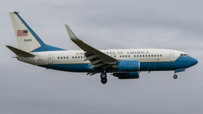 Photo ID 214623 by Paul Varner. USA Air Force Boeing C 40C 737 7CP BBJ, 05 4613