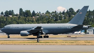 Photo ID 214621 by Aaron C. Rhodes. USA Air Force Boeing KC 46A Pegasus 767 200LRF, N464KC