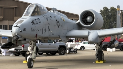 Photo ID 214655 by W.A.Kazior. USA Air Force Fairchild A 10C Thunderbolt II, 80 0151