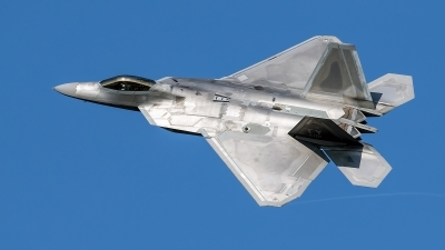 Photo ID 214646 by Robin Coenders / VORTEX-images. USA Air Force Lockheed Martin F 22A Raptor, 05 4101