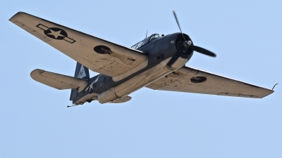 Photo ID 214668 by Gerald Howard. Private Planes of Fame Air Museum Grumman TBM 3E Avenger, N7835C