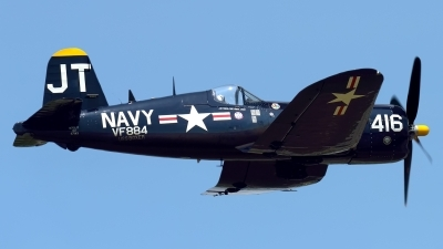 Photo ID 214673 by Rod Dermo. Private Private Vought F4U 4 Corsair, N713JT