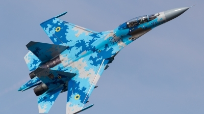 Photo ID 214640 by Andreas Zeitler - Flying-Wings. Ukraine Air Force Sukhoi Su 27UB1M, B 1831M1