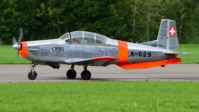 Photo ID 214660 by Sven Zimmermann. Private P 3 Flyers Pilatus P 3 05, HB RCJ