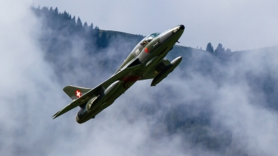 Photo ID 214687 by Agata Maria Weksej. Private Fliegermuseum Altenrhein Hawker Hunter T68, HB RVP