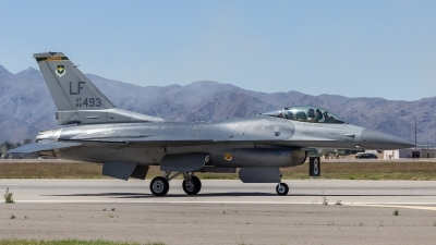 Photo ID 214758 by Paul Varner. USA Air Force General Dynamics F 16C Fighting Falcon, 88 0493