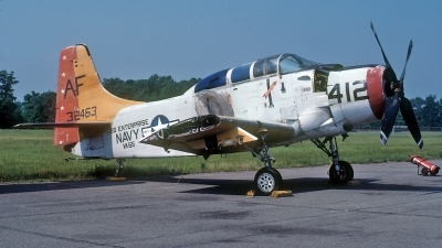 Photo ID 214730 by David F. Brown. USA Navy Douglas A 1E Skyraider AD 5, 132463