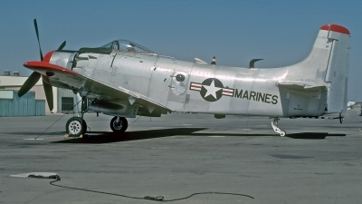 Photo ID 214826 by David F. Brown. Private Private Douglas A 1D Skyraider AD 4NA, N2088V