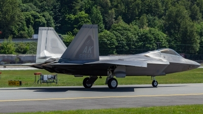 Photo ID 214734 by Paul Varner. USA Air Force Lockheed Martin F 22A Raptor, 10 4195