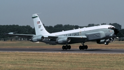 Photo ID 214737 by Henk Schuitemaker. USA Air Force Boeing RC 135U Combat Sent 739 445B, 64 14847