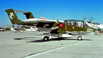 Photo ID 214784 by Gerrit Kok Collection. USA Marines North American Rockwell OV 10A Bronco, 155405