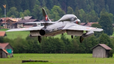 Photo ID 229939 by Agata Maria Weksej. Private Fliegermuseum Altenrhein Hawker Hunter T68, HB RVP