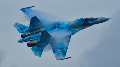 Photo ID 214775 by Radim Spalek. Ukraine Air Force Sukhoi Su 27UB1M, B 1831M1
