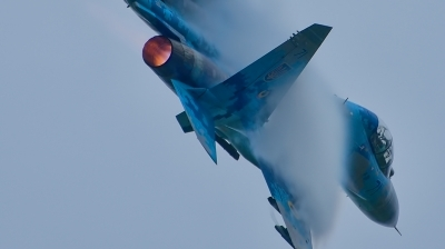 Photo ID 214776 by Radim Spalek. Ukraine Air Force Sukhoi Su 27UB1M, B 1831M1