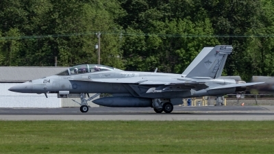 Photo ID 214780 by Paul Varner. USA Navy Boeing F A 18F Super Hornet, 166886