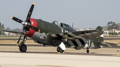 Photo ID 216374 by W.A.Kazior. Private Planes of Fame Air Museum Republic P 47G Thunderbolt, N3395G