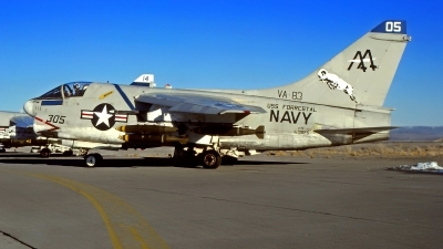 Photo ID 214903 by Gerrit Kok Collection. USA Navy LTV Aerospace A 7E Corsair II, 160875