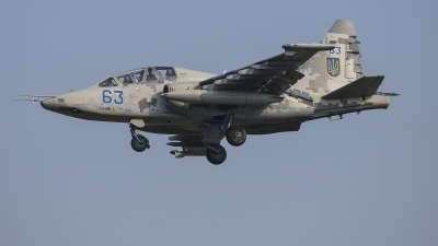 Photo ID 214850 by Lars Kitschke. Ukraine Air Force Sukhoi Su 25UB,
