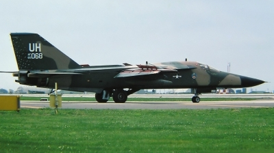Photo ID 214879 by Arie van Groen. USA Air Force General Dynamics F 111E Aardvark, 68 0068