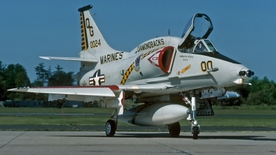 Photo ID 214880 by David F. Brown. USA Marines Douglas A 4M Skyhawk, 160024