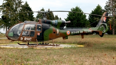 Photo ID 214910 by Carl Brent. France Army Aerospatiale SA 341F Gazelle, 1101