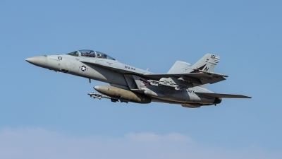 Photo ID 214890 by Paul Varner. USA Navy Boeing F A 18F Super Hornet, 166874