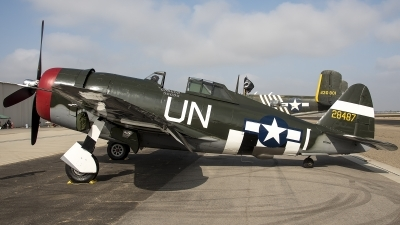 Photo ID 214945 by W.A.Kazior. Private Planes of Fame Air Museum Republic P 47G Thunderbolt, N3395G