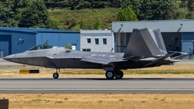 Photo ID 214938 by Paul Varner. USA Air Force Lockheed Martin F 22A Raptor, 07 4147