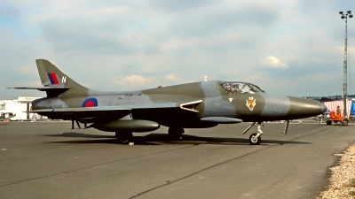 Photo ID 215025 by Gerrit Kok Collection. UK Air Force Hawker Hunter T7A, XL568