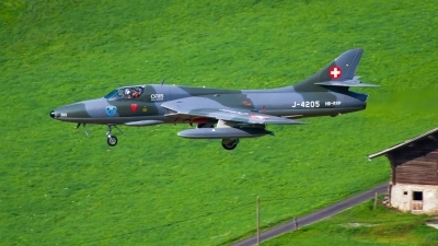 Photo ID 214972 by Agata Maria Weksej. Private Fliegermuseum Altenrhein Hawker Hunter T68, HB RVP