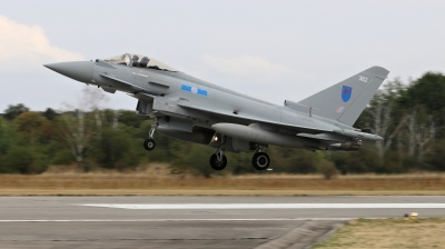 Photo ID 214967 by Milos Ruza. UK Air Force Eurofighter Typhoon FGR4, ZK362