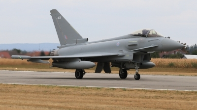 Photo ID 214970 by Milos Ruza. UK Air Force Eurofighter Typhoon FGR4, ZK426