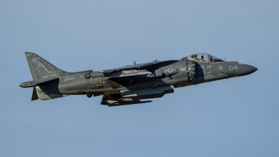 Photo ID 215004 by Paul Varner. USA Marines McDonnell Douglas AV 8B Harrier ll, 165573