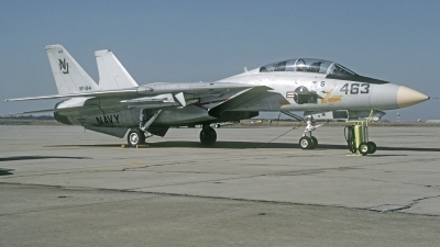 Photo ID 215053 by David F. Brown. USA Navy Grumman F 14A Tomcat, 162599