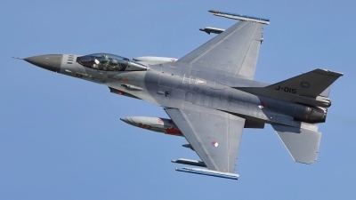 Photo ID 215050 by Dieter Linemann. Netherlands Air Force General Dynamics F 16AM Fighting Falcon, J 015