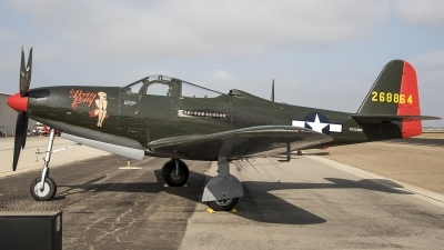 Photo ID 215135 by W.A.Kazior. Private Palm Springs Air Museum Bell P 63A Kingcobra, NX163BP