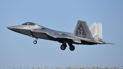 Photo ID 215076 by M.Schmal. USA Air Force Lockheed Martin F 22A Raptor, 05 4091