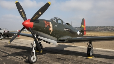 Photo ID 219422 by W.A.Kazior. Private Palm Springs Air Museum Bell P 63A Kingcobra, NX163BP
