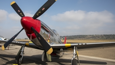 Photo ID 215112 by W.A.Kazior. Private Palm Springs Air Museum North American P 51D Mustang, N151BP