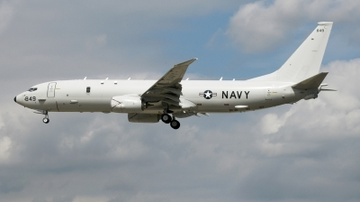Photo ID 215155 by Luca Chadwick. USA Navy Boeing P 8A Poseidon 737 800ERX, 168849