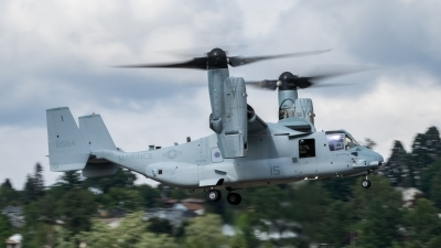 Photo ID 215201 by Paul Varner. USA Marines Bell Boeing MV 22B Osprey, 168664