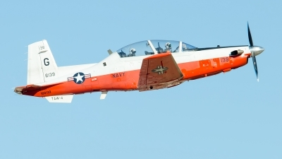 Photo ID 215171 by Brandon Thetford. USA Navy Raytheon T 6B Texan II, 166139