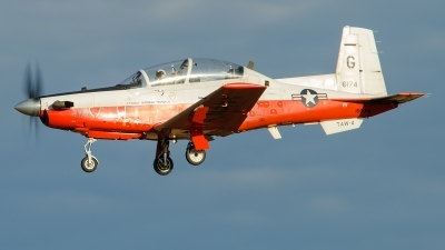 Photo ID 215170 by Brandon Thetford. USA Navy Raytheon T 6B Texan II, 166174