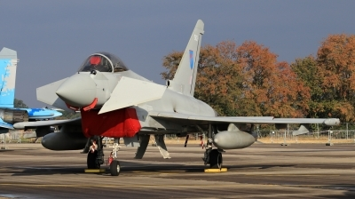 Photo ID 215169 by Milos Ruza. UK Air Force Eurofighter Typhoon FGR4, ZK362