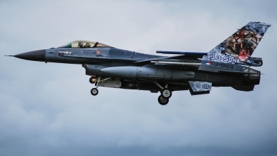 Photo ID 215240 by Sven Neumann. Netherlands Air Force General Dynamics F 16AM Fighting Falcon, J 003